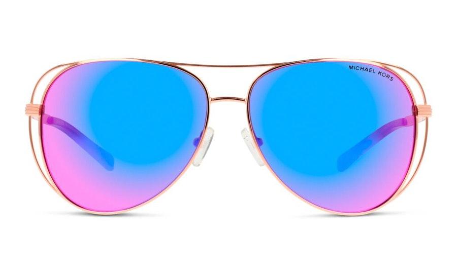 Michael Kors MK 1024 Women's Sunglasses Pink / Gold