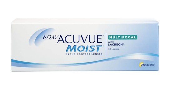 Acuvue Moist with LACREON (1 day multifocal)