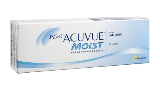 Acuvue Moist with LACREON (1 day)