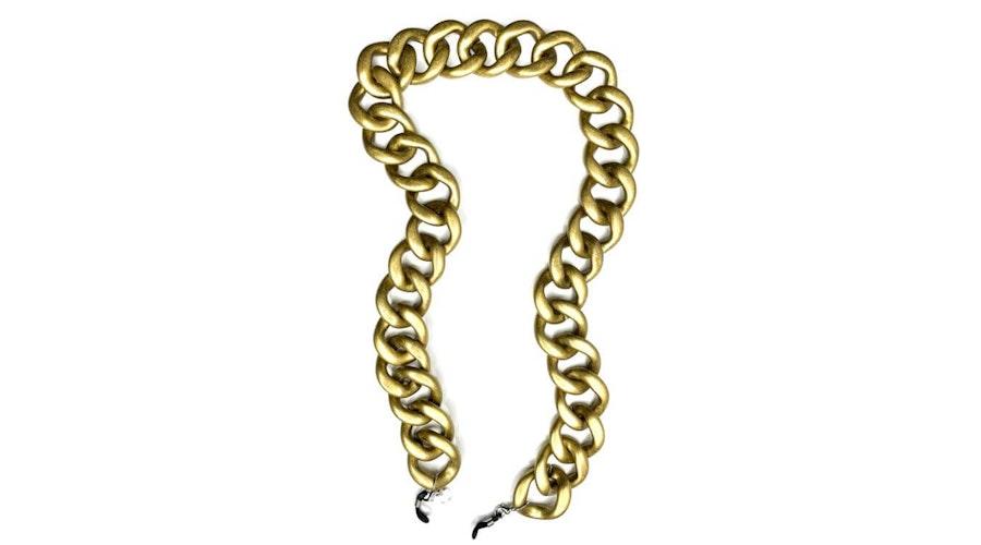 CotiVision Diva Glasses Chain Gold