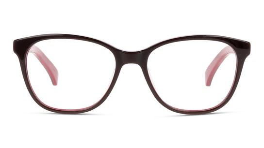 CKJ 990 Women's Glasses Transparent / Burgundy