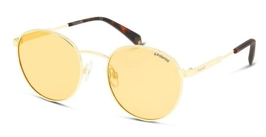 Round Pop PLD 2053/S (L7Q) Sunglasses Gold / Gold