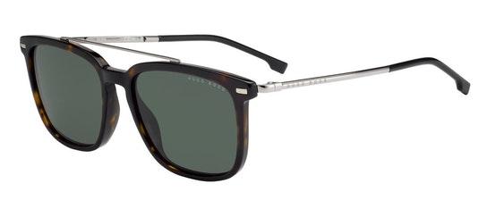 BOSS 0930/S (086) Sunglasses Green / Tortoise Shell