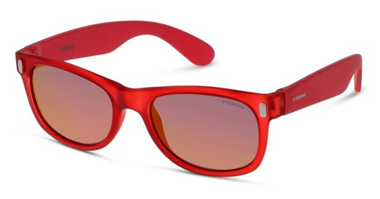 P0115 Children's Sunglasses Red / Red
