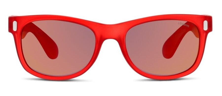 Polaroid Kids P0115 (6XQ) Children's Sunglasses Red / Red