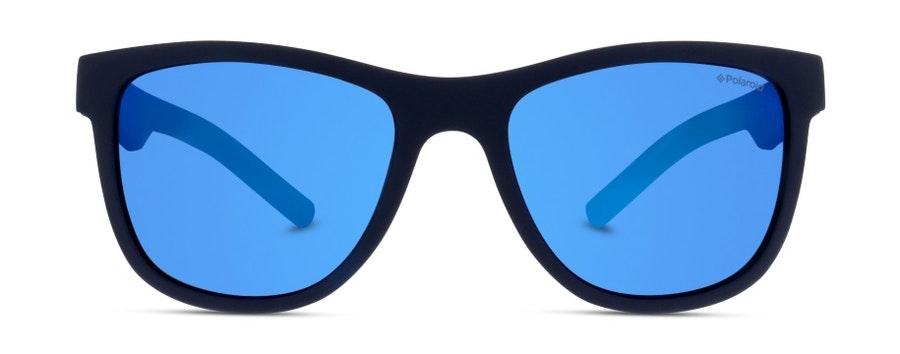 Polaroid Kids PLD 8018/S Children's Sunglasses Blue / Blue