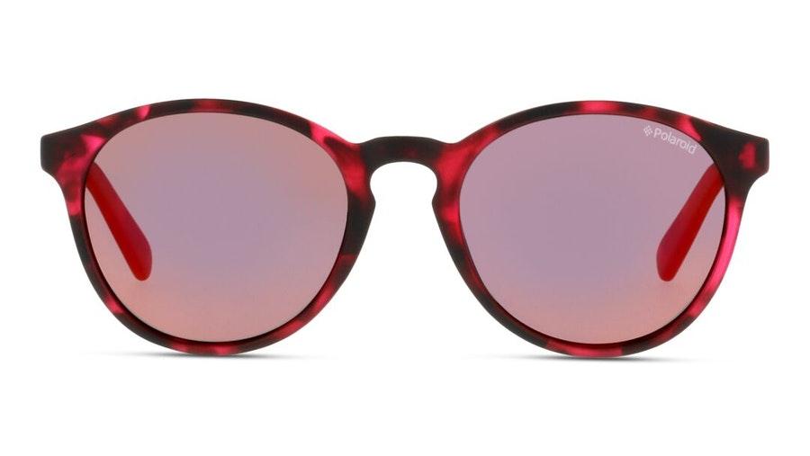 Polaroid Kids PLD 8024/S (C4B) Children's Sunglasses Pink / Havana