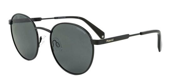 Round Pop PLD 2053/S (807) Sunglasses Grey / Black