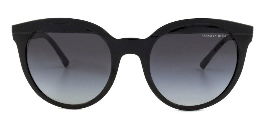 Armani Exchange AX 4086S Women's Sunglasses Grey / Black