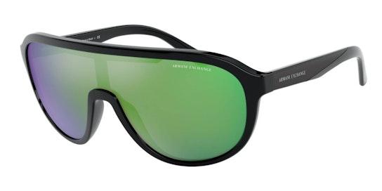AX 4099S (815831) Sunglasses Green / Black