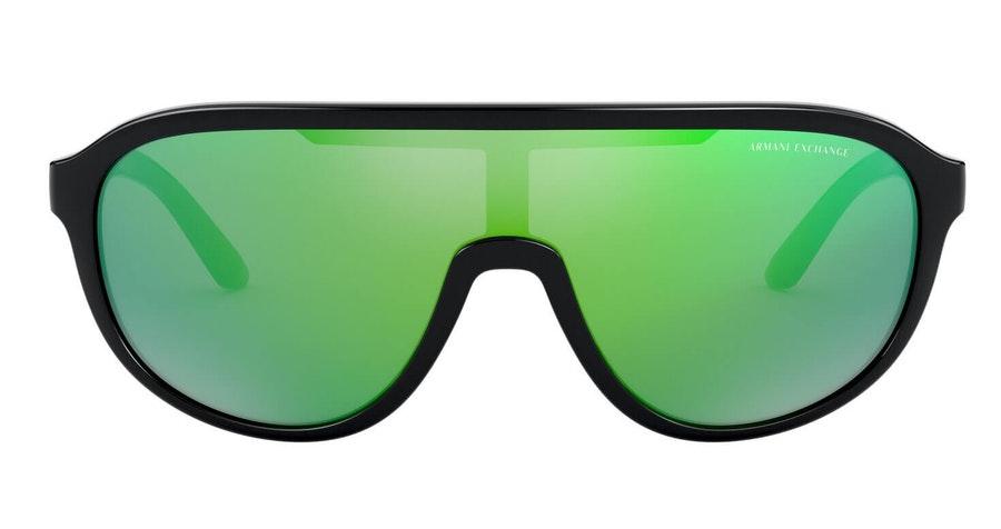 Armani Exchange AX 4099S Women's Sunglasses Green/Black