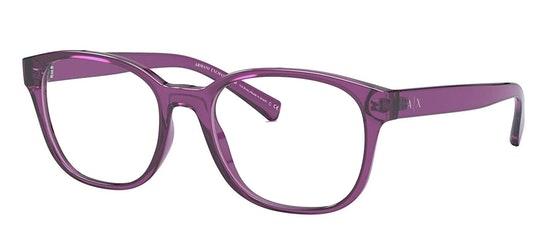 AX 3072 Women's Glasses Transparent / Burgundy