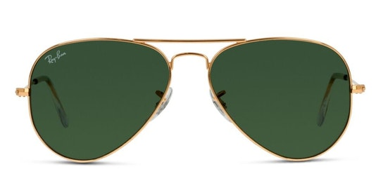Aviator (55mm) RB 3025 (W3234) Sunglasses Grey / Gold