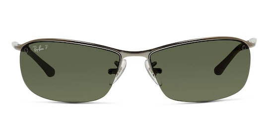 RB 3183 (004/9A) Sunglasses Green / Silver