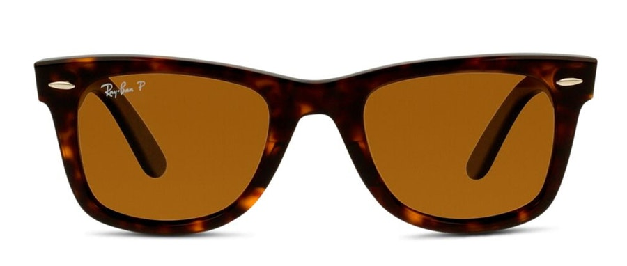 Ray-Ban Wayfarer RB 2140 (902/57) Sunglasses Brown / Tortoise Shell