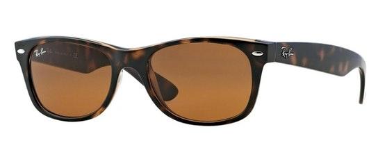 New Wayfarer Classic RB 2132 (710) Sunglasses Brown / Tortoise Shell