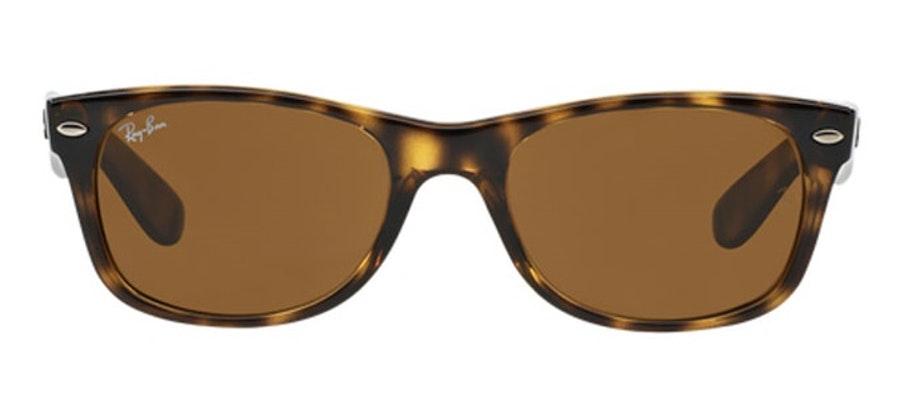 Ray-Ban New Wayfarer Classic RB 2132 (710) Sunglasses Brown / Tortoise Shell