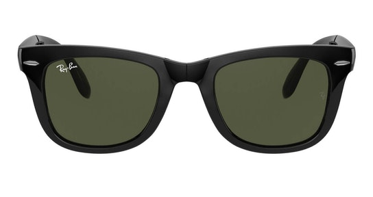 Folding Wayfarer RB 4105 (601) Sunglasses Green / Black