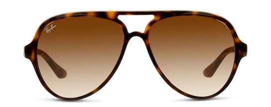 Cats 5000 RB 4125 (710/51) Sunglasses Brown / Tortoise Shell