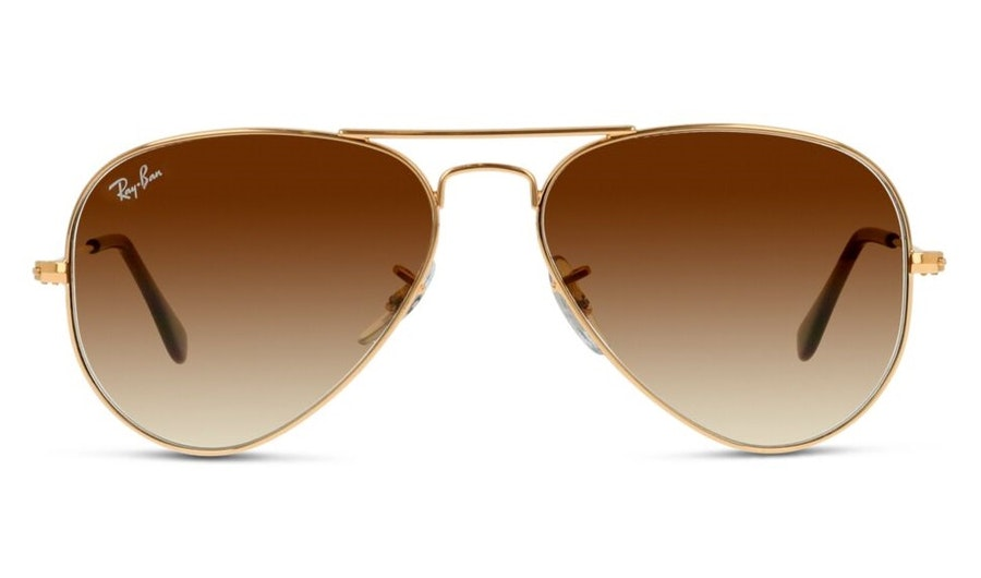 Ray-Ban Aviator RB 3025 (001/51) Sunglasses Brown / Gold