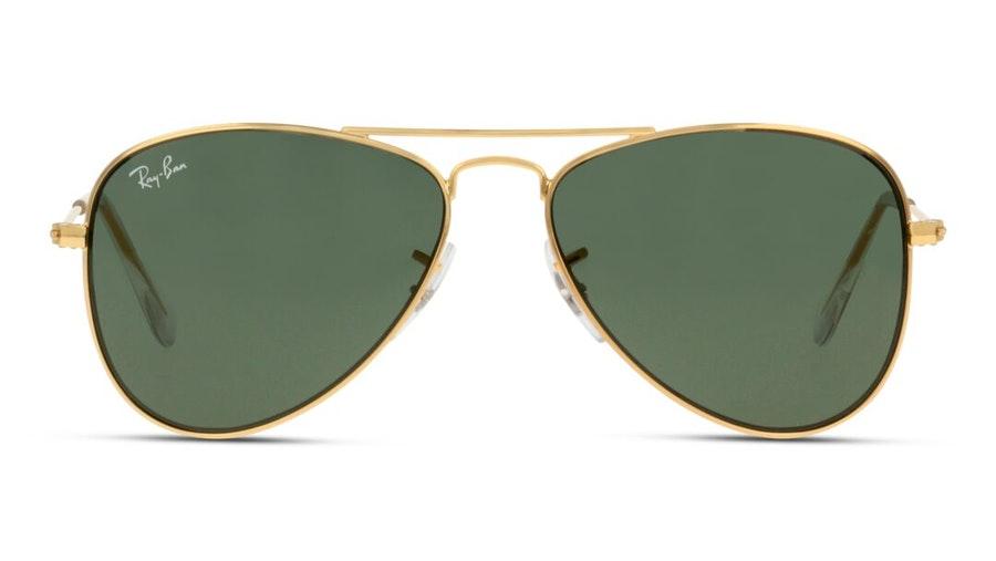 Ray-Ban Juniors RJ 9506S (223/71) Children's Sunglasses Green / Gold