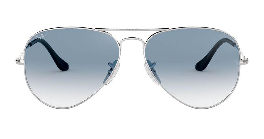 Ray-Ban Aviator RB 3025 Unisex Sunglasses Havana/Silver
