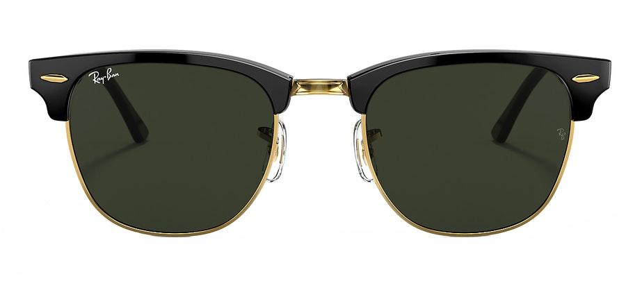 Ray-Ban Club Master RB 3016 Unisex Sunglasses Green / Black