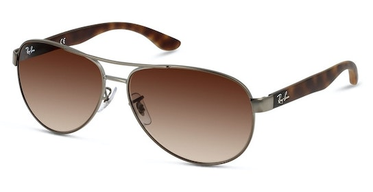 RB 3457 (029/13) Sunglasses Brown / Silver