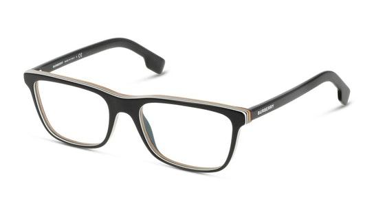 BE 2292 Men's Glasses Transparent / Black