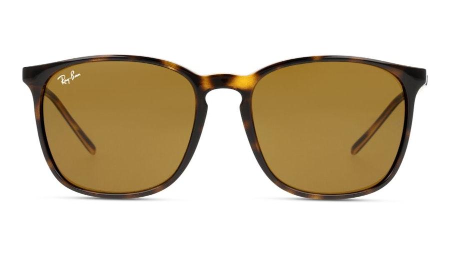 Ray-Ban RB 4387 Unisex Sunglasses Brown/Havana