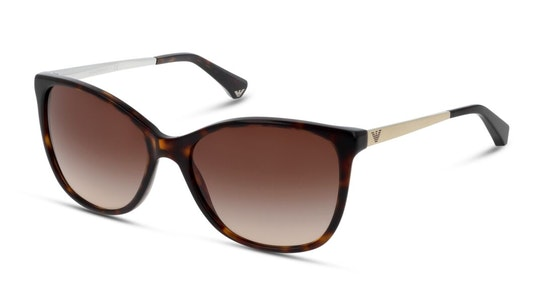 EA 4025 Women's Sunglasses Brown / Tortoise Shell