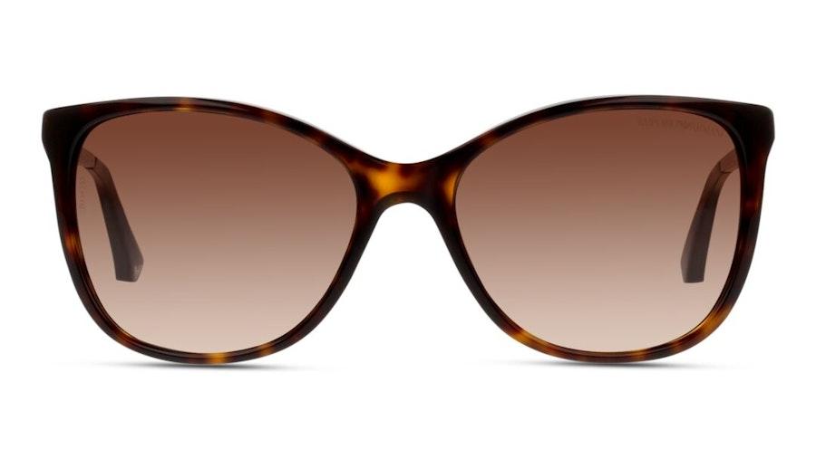 Emporio Armani EA 4025 Women's Sunglasses Brown/Tortoise Shell