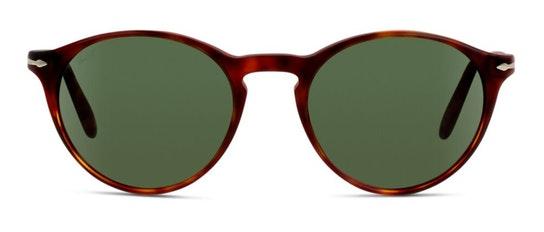 PO 3092S Women's Sunglasses Green / Tortoise Shell