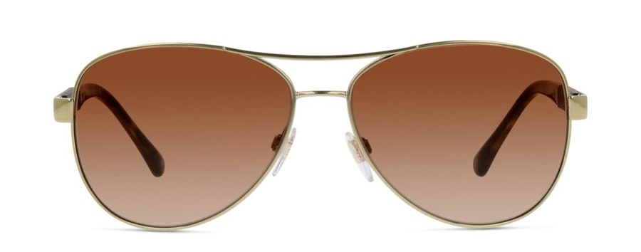 Burberry BE 3080 Women's Sunglasses Brown / Gold