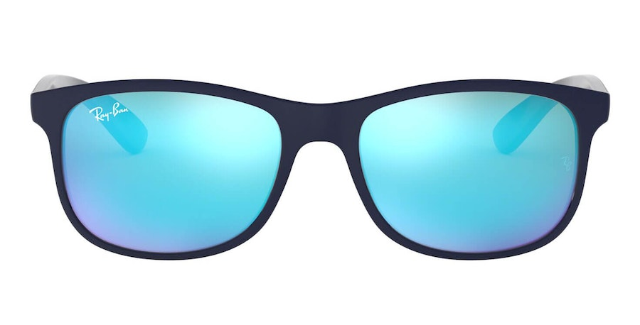 Ray-Ban Andy RB 4202 Men's Sunglasses Blue / Blue