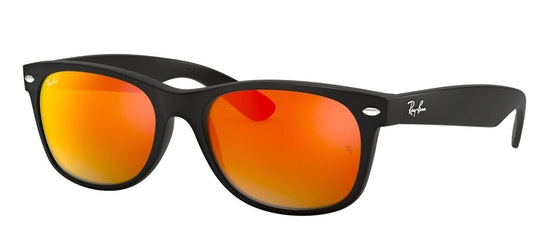 New Wayfarer RB 2132 (622/69) Sunglasses Red / Black