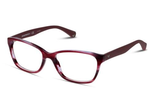 EA 3060 Women's Glasses Transparent / Violet