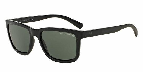 AX4045S (817871) Sunglasses Green / Black