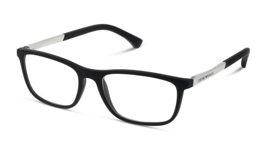 EA 3069 Men's Glasses Transparent / Black