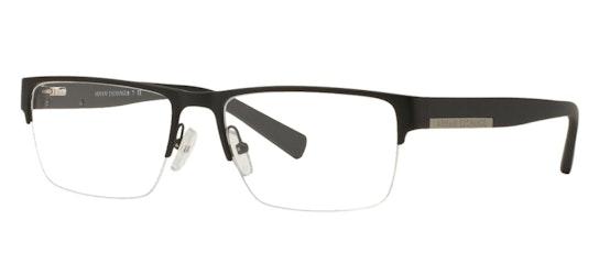 AX 1018 Men's Glasses Transparent / Black