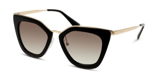 PR 53SS (1AB0A7) Sunglasses Grey / Black