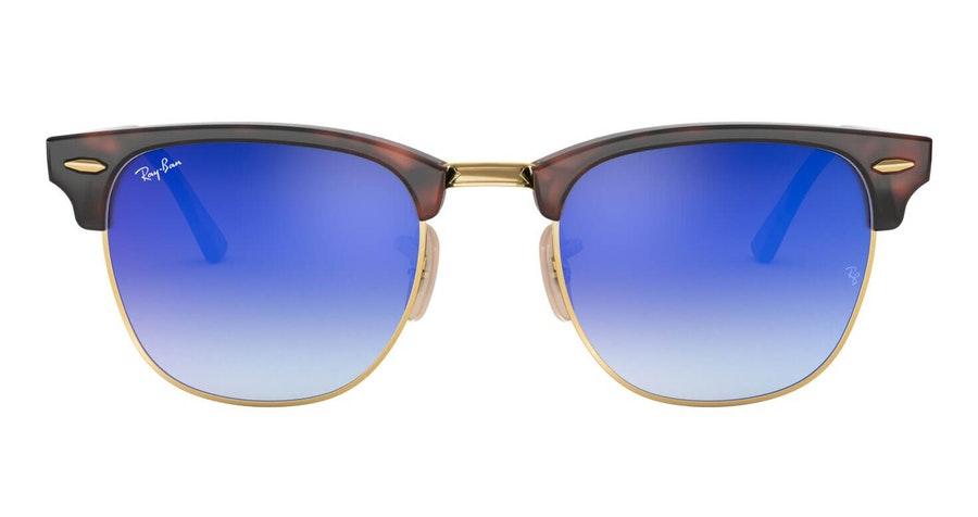 Ray-Ban Clubmaster RB 3016 Men's Sunglasses Blue / Tortoise Shell