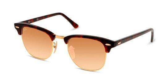 Clubmaster RB 3016 Men's Sunglasses Orange / Havana