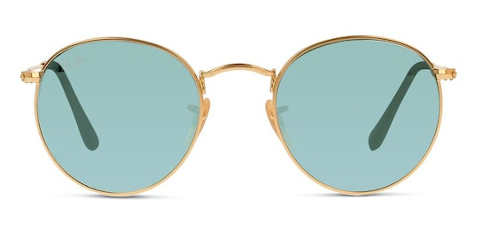 Round RB 3447 (001/30) Sunglasses Silver / Gold
