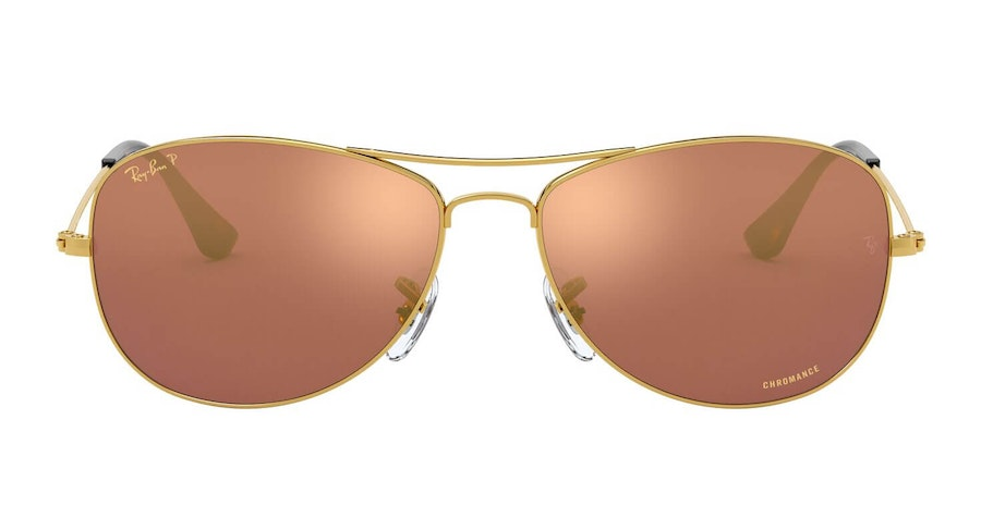 Ray-Ban RB 3562 Men's Sunglasses Gold / Gold