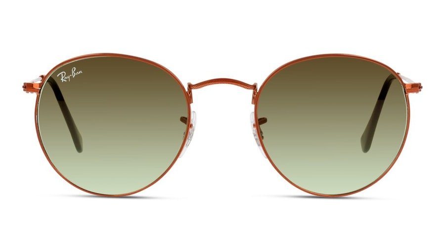 Ray-Ban Round Metal RB 3447 Men's Sunglasses Green / Bronze