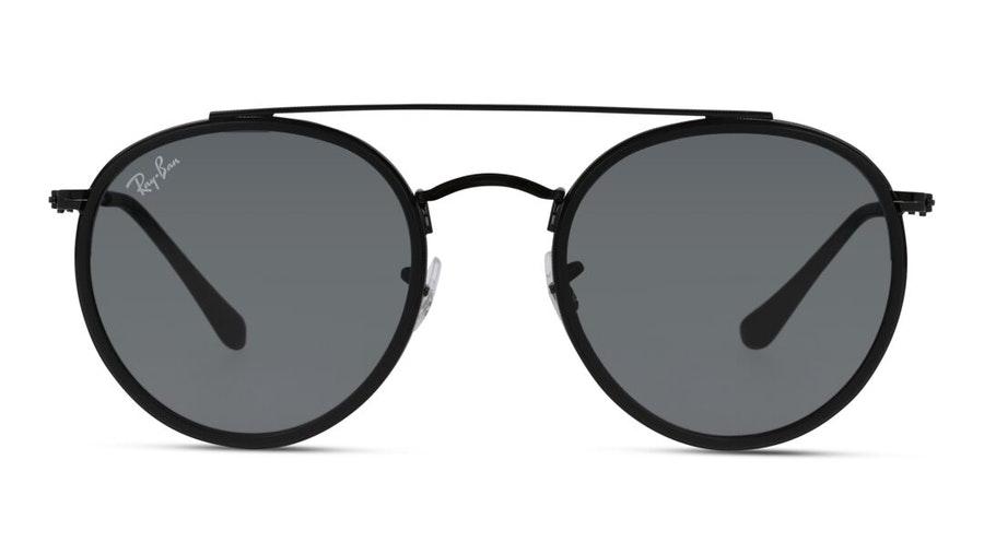 Ray-Ban Round Double Bridge RB 3647N Men's Sunglasses Blue / Black