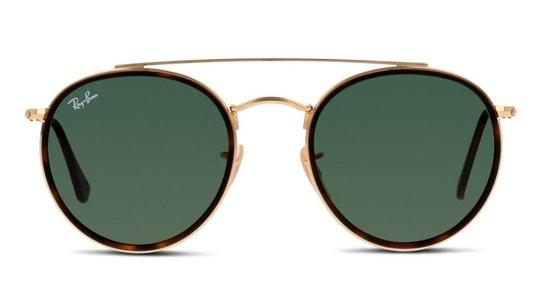 RB 3647N Unisex Sunglasses Green / Gold