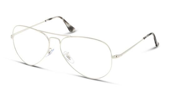 Aviator RX 6489 (Large) (2501) Glasses Transparent / Silver