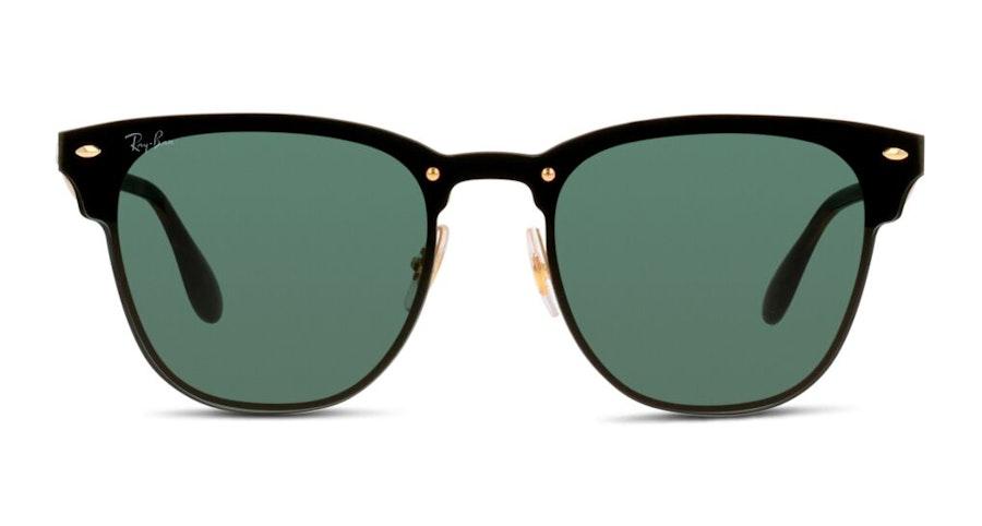 Ray-Ban Blaze Clubmaster RB 3576N Men's Sunglasses Green / Black